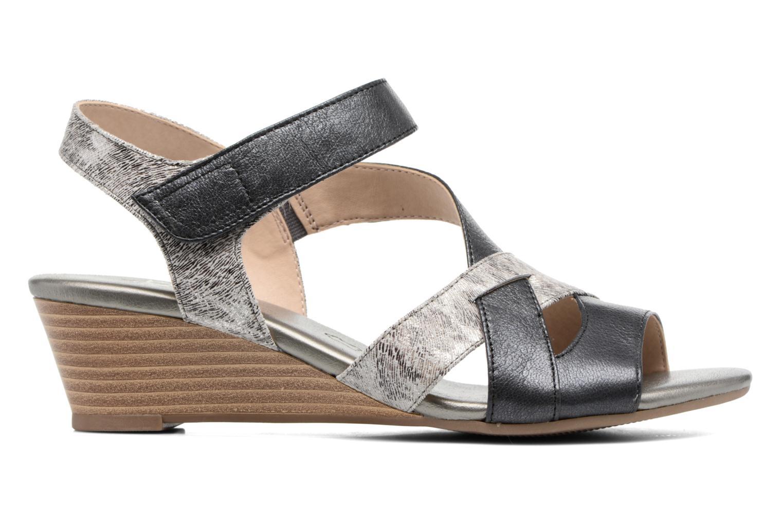Sandales et nu-pieds Caprice Arielle 2 Gris vue derrière