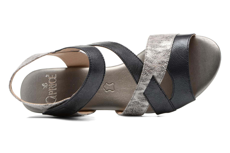 Sandales et nu-pieds Caprice Arielle 2 Gris vue gauche
