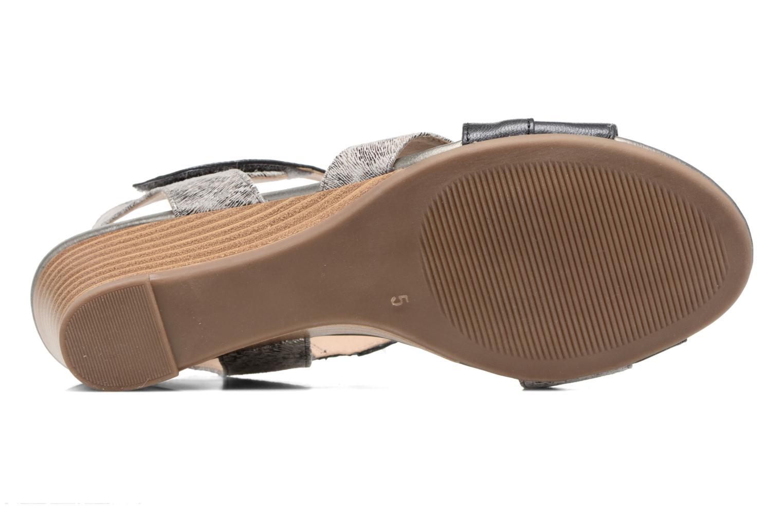 Sandales et nu-pieds Caprice Arielle 2 Gris vue haut