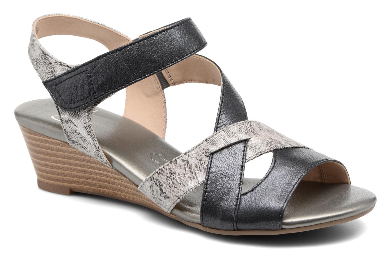 Sandales et nu-pieds Caprice Arielle 2 Gris vue détail/paire