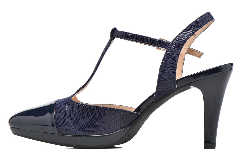 Sandales et nu-pieds Caprice Ashley 2 Bleu vue face