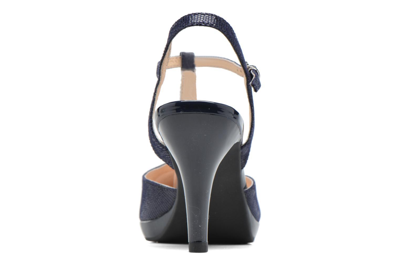 Sandales et nu-pieds Caprice Ashley 2 Bleu vue droite