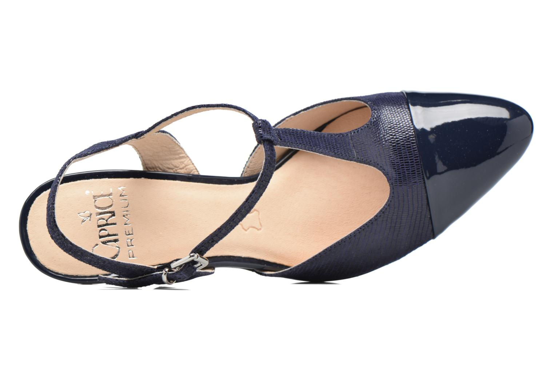 Sandales et nu-pieds Caprice Ashley 2 Bleu vue gauche