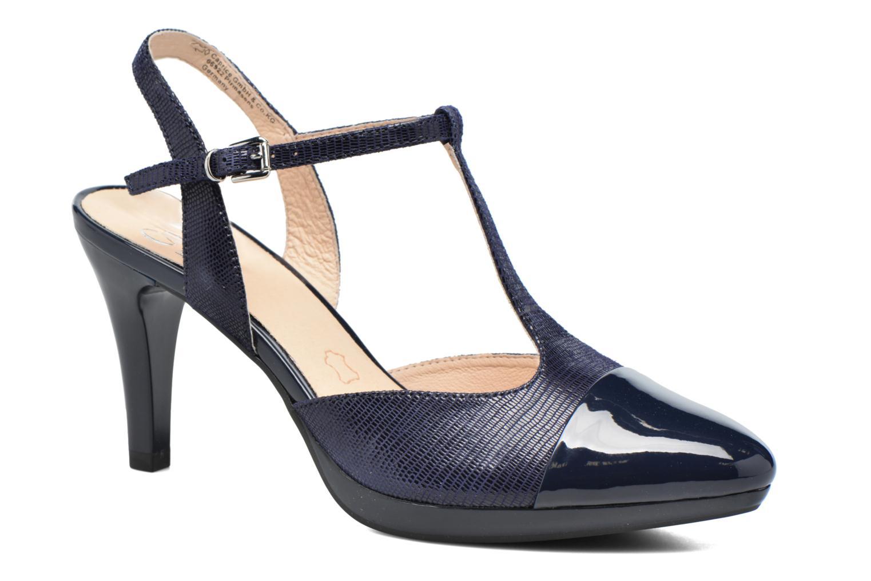 Sandales et nu-pieds Caprice Ashley 2 Bleu vue détail/paire