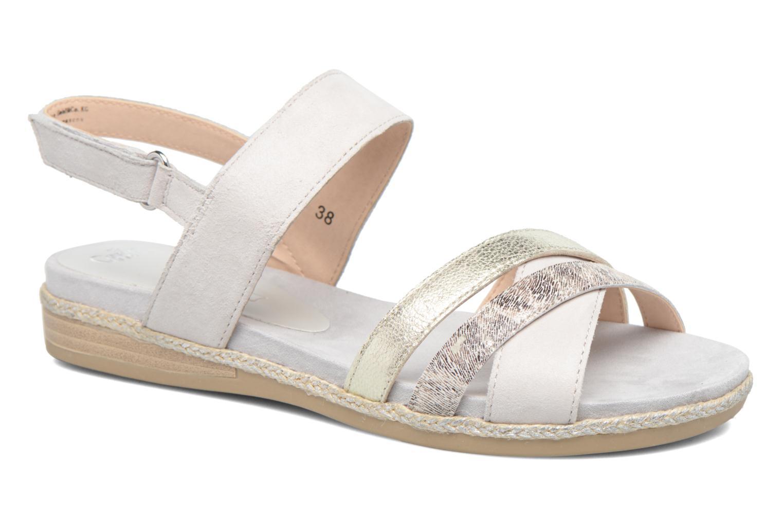 Sandales et nu-pieds Caprice Cynthia Blanc vue détail/paire