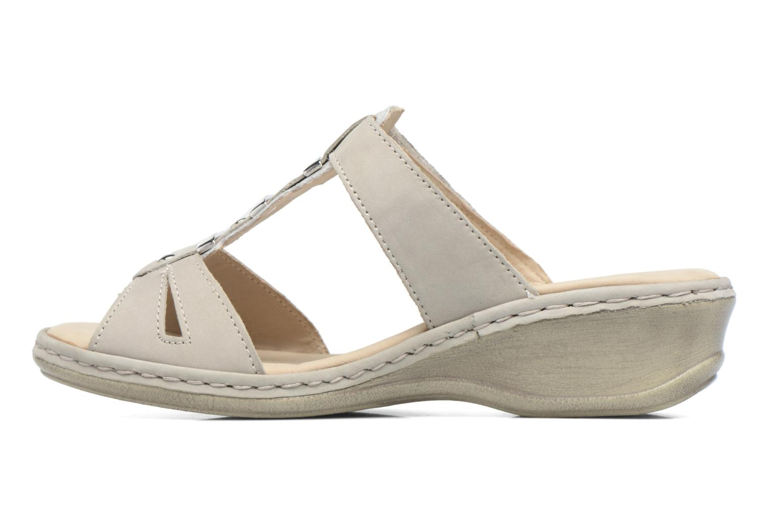 Mules & clogs Caprice Emma White front view