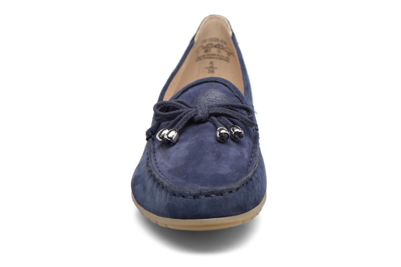 Mocassins Caprice Lena Bleu vue portées chaussures