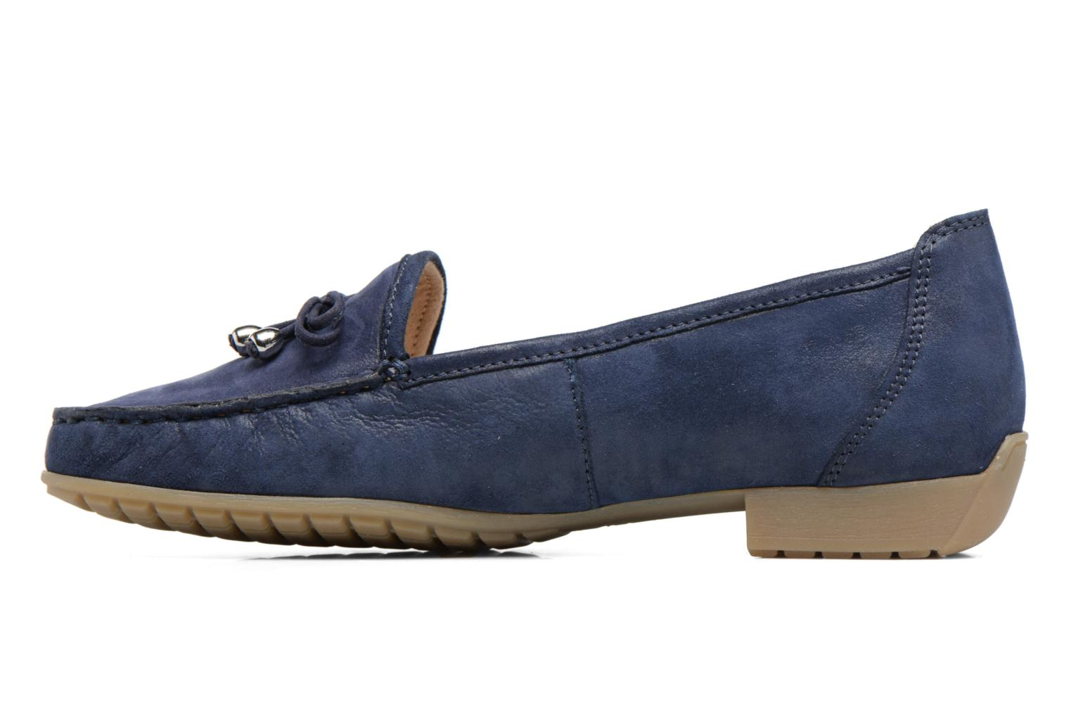 Loafers Caprice Lena Blue front view