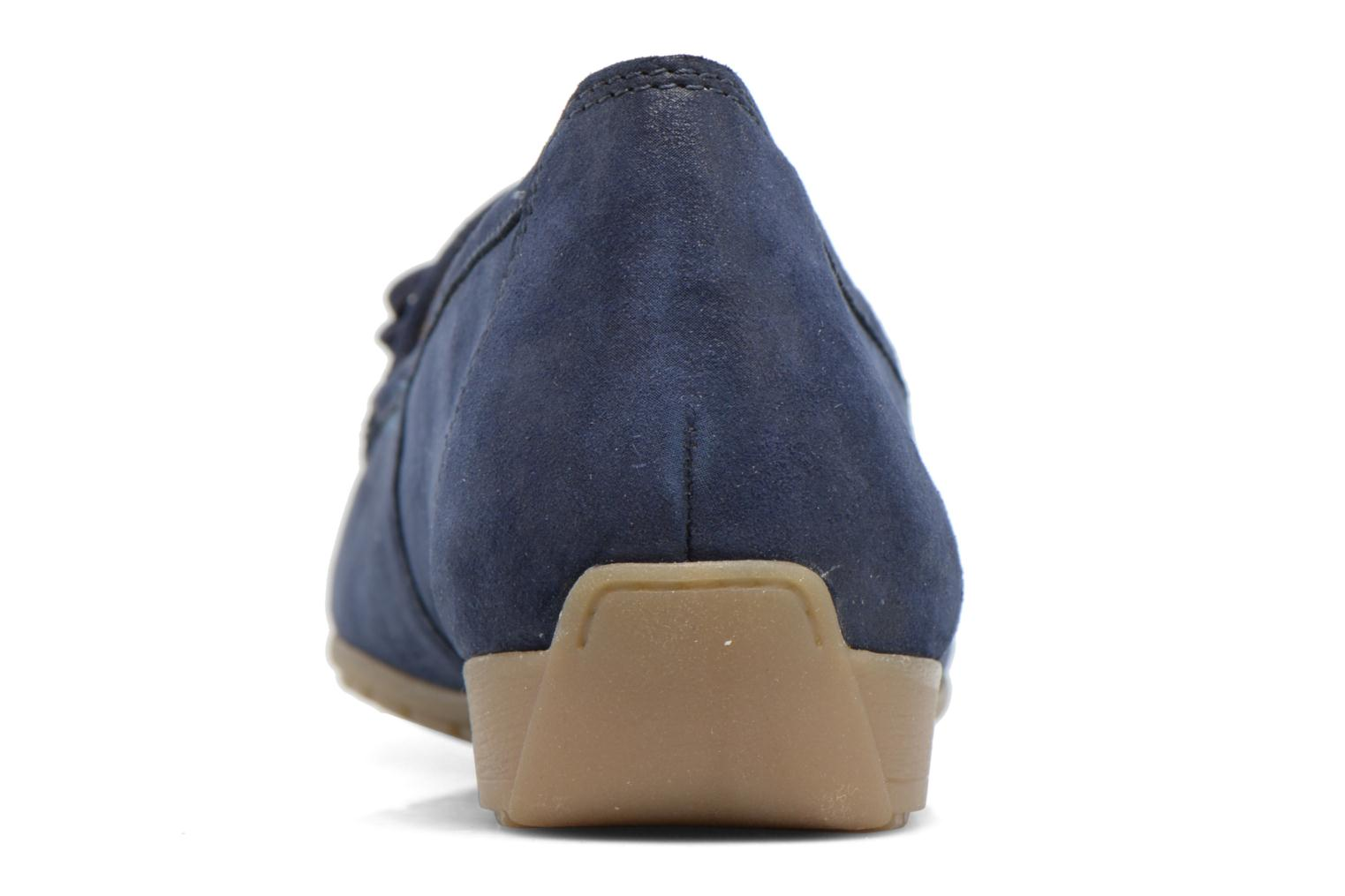 Loafers Caprice Lena Blue view from the right