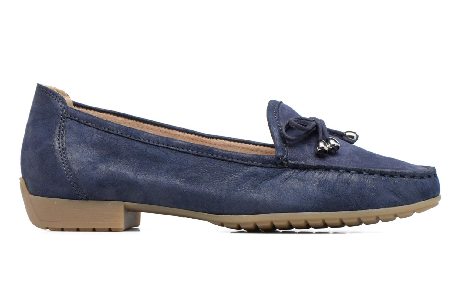Loafers Caprice Lena Blue back view