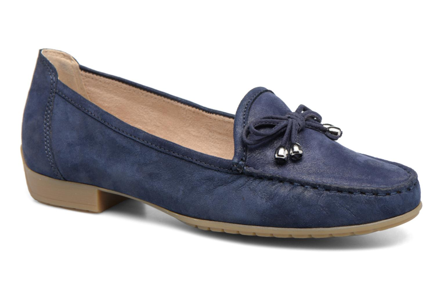 Loafers Caprice Lena Blue detailed view/ Pair view