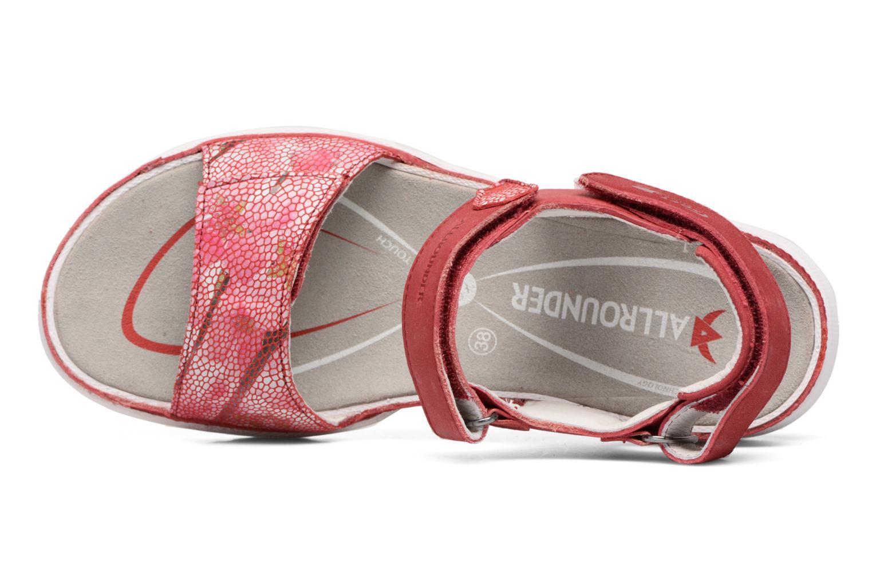 Chaussures de sport Allrounder by Mephisto Tabasa Rouge vue gauche