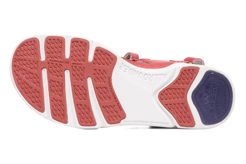 Chaussures de sport Allrounder by Mephisto Tabasa Rouge vue haut