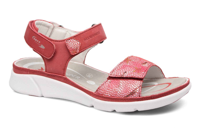 Chaussures de sport Allrounder by Mephisto Tabasa Rouge vue détail/paire