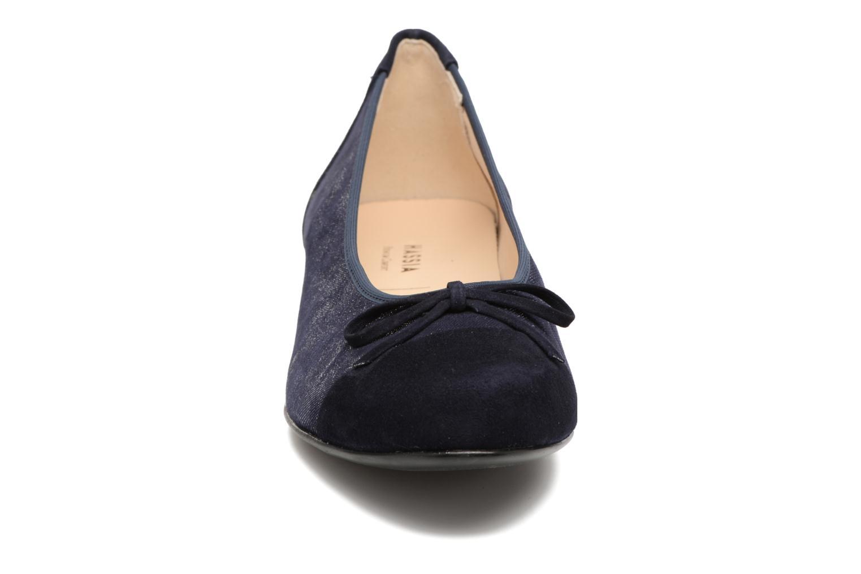 Ballerines Hassia Bologna 0943 Bleu vue portées chaussures