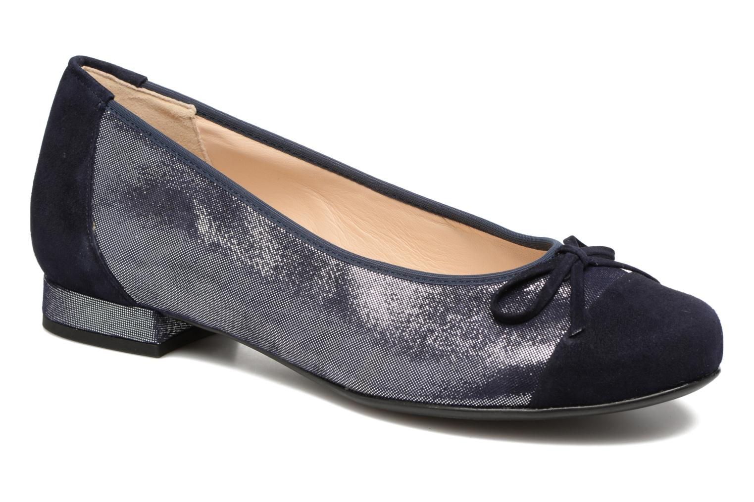 Ballet pumps Hassia Bologna 0943 Blue detailed view/ Pair view