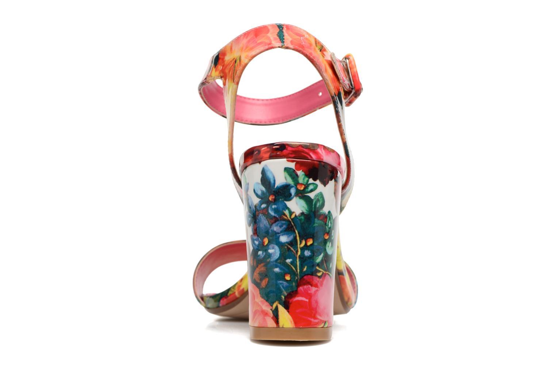 Sandales et nu-pieds Dune London Moonflower Multicolore vue droite