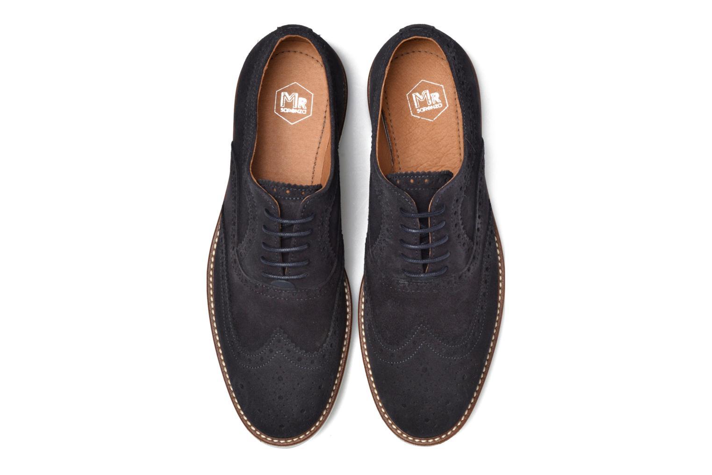 Chaussures à lacets Mr SARENZA Clydor Bleu vue portées chaussures