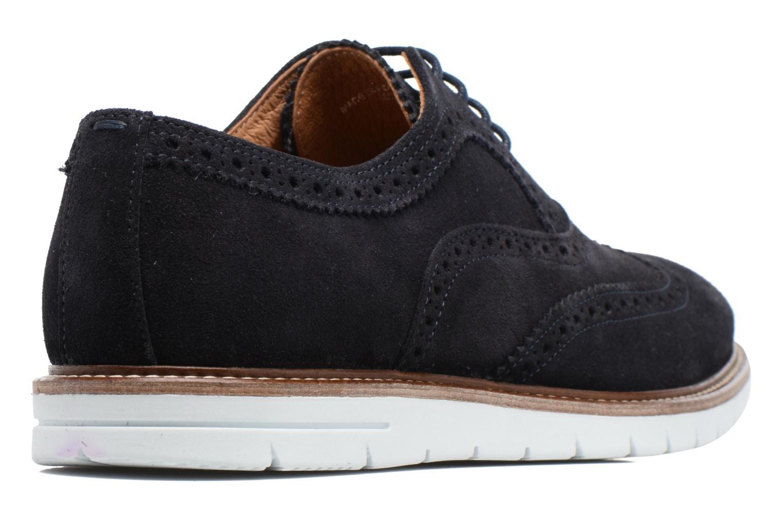Chaussures à lacets Mr SARENZA Clydor Bleu vue face