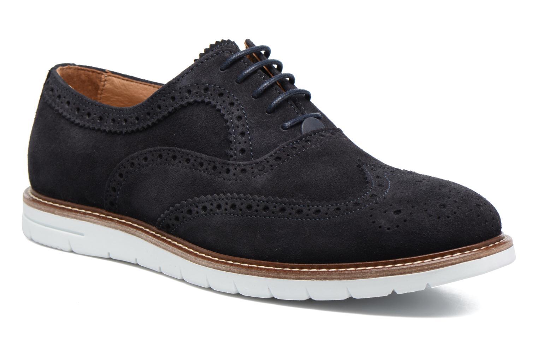 Chaussures à lacets Mr SARENZA Clydor Bleu vue droite