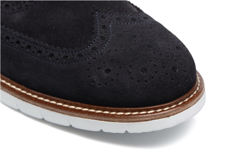 Zapatos con cordones Mr SARENZA Clydor Azul vista lateral izquierda