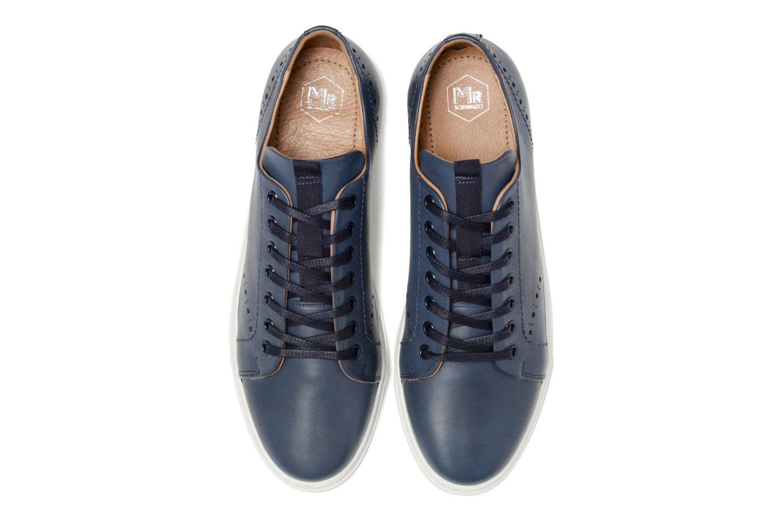Sneakers Mr SARENZA Cortig Azzurro modello indossato