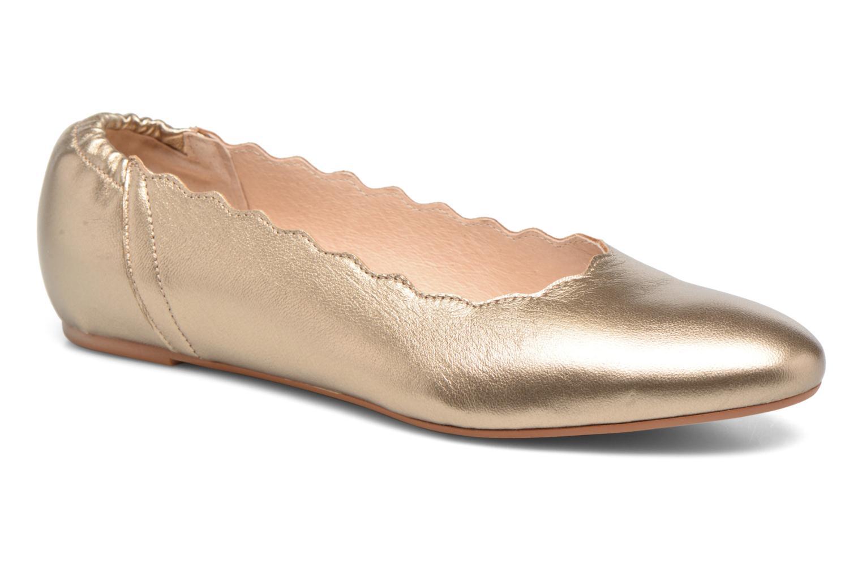 Grandes descuentos últimos zapatos HE Spring Coco 2 (Oro y bronce) - Bailarinas Descuento