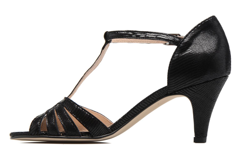 Sandales et nu-pieds Georgia Rose Salapa Noir vue face
