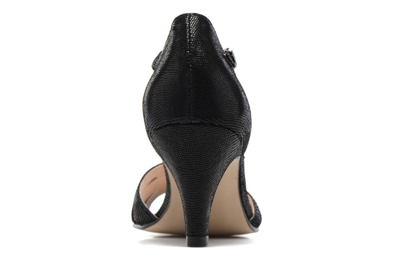 Sandales et nu-pieds Georgia Rose Salapa Noir vue droite