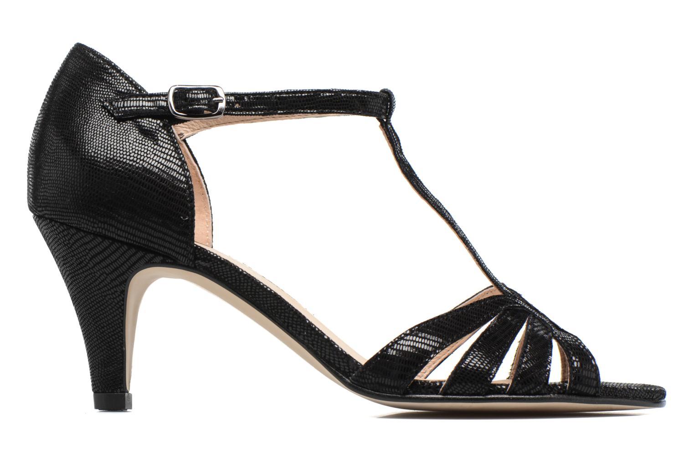 Sandales et nu-pieds Georgia Rose Salapa Noir vue derrière