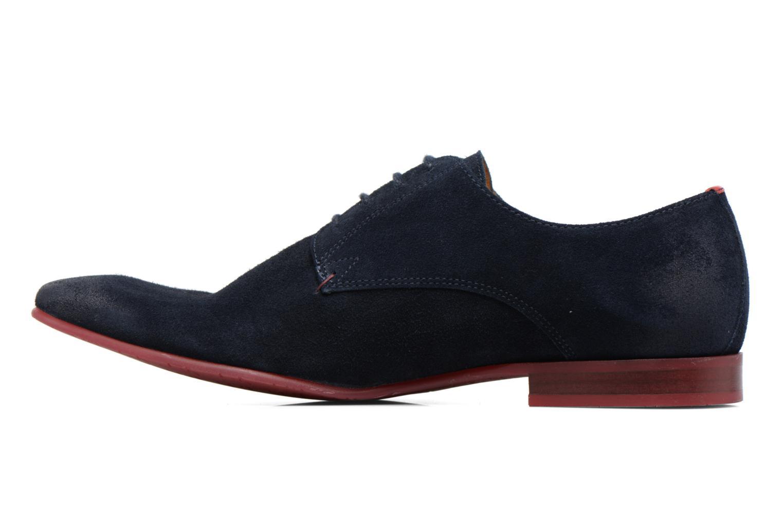 Chaussures à lacets HE Spring Peter Bleu vue face