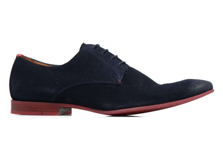 Chaussures à lacets HE Spring Peter Bleu vue derrière