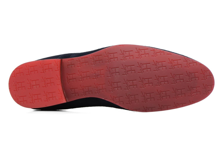 Chaussures à lacets HE Spring Peter Bleu vue haut