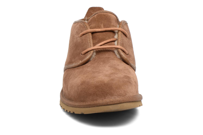 Chaussures à lacets UGG M Maksim Marron vue portées chaussures