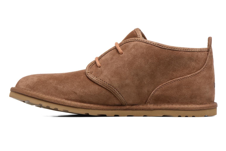 Chaussures à lacets UGG M Maksim Marron vue face