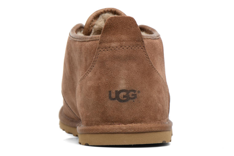 Zapatos con cordones UGG M Maksim Marrón vista lateral derecha
