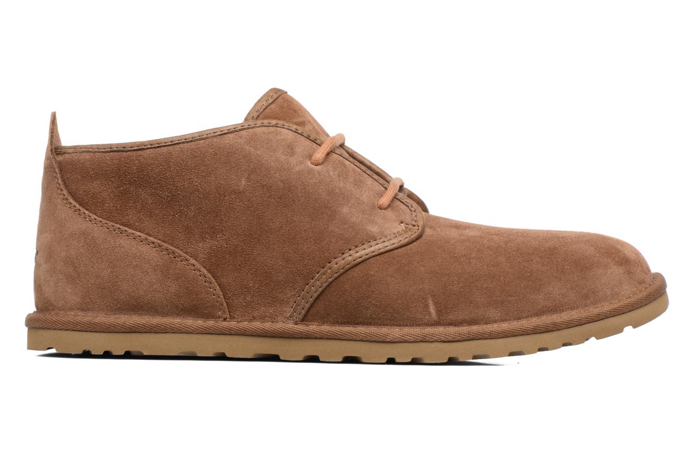 Chaussures à lacets UGG M Maksim Marron vue derrière