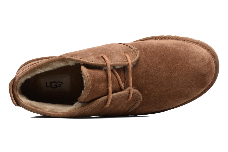 Zapatos con cordones UGG M Maksim Marrón vista lateral izquierda