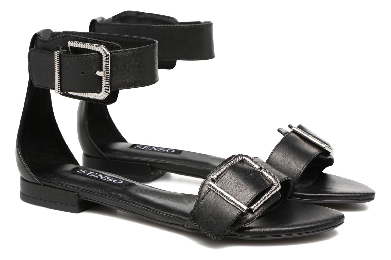 Sandales et nu-pieds SENSO Ziggy Noir vue 3/4