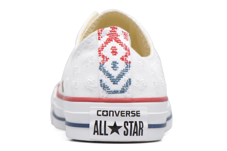 Chuck Taylor All Star Ox Americana Embroidery WhiteCasinoWhite