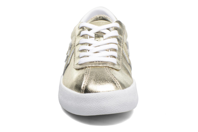 Baskets Converse Breakpoint Ox Metallic Canvas W Or et bronze vue portées chaussures