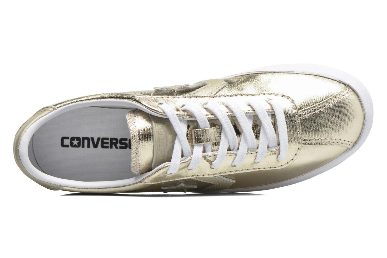 Baskets Converse Breakpoint Ox Metallic Canvas W Or et bronze vue gauche