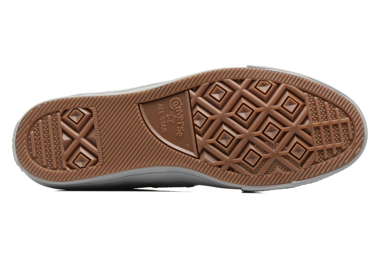 Sneakers Converse Chuck Taylor All Star II Ox Lux Leather Grigio immagine dall'alto