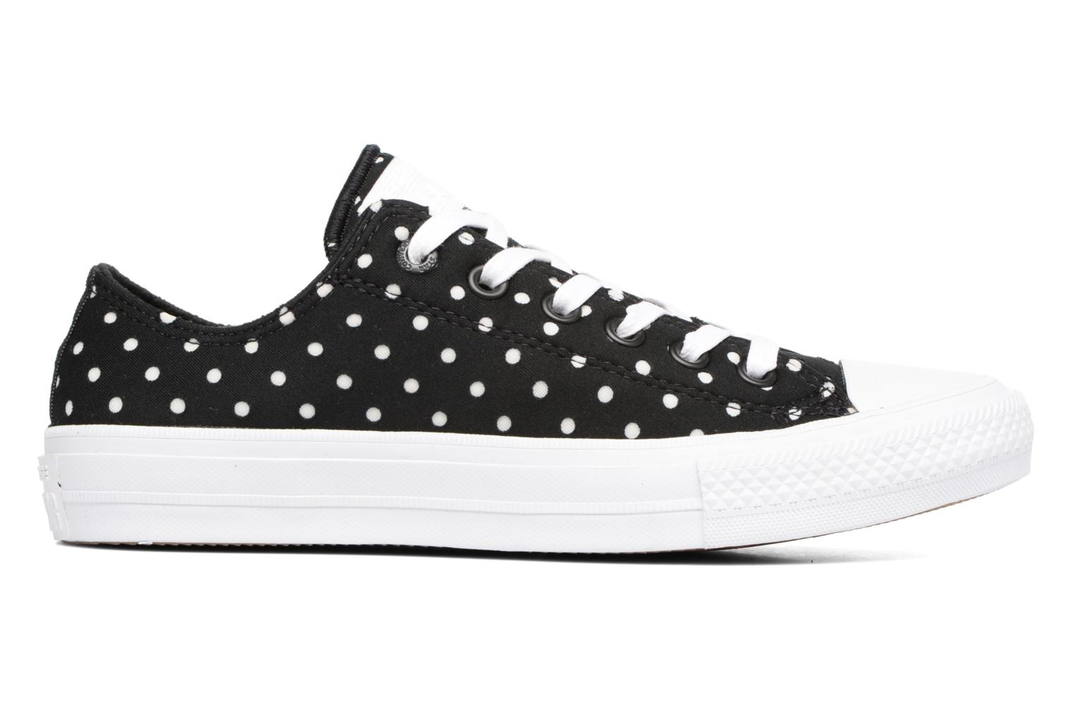 Baskets Converse Chuck Taylor All Star II Ox Shield Lycra Noir vue derrière