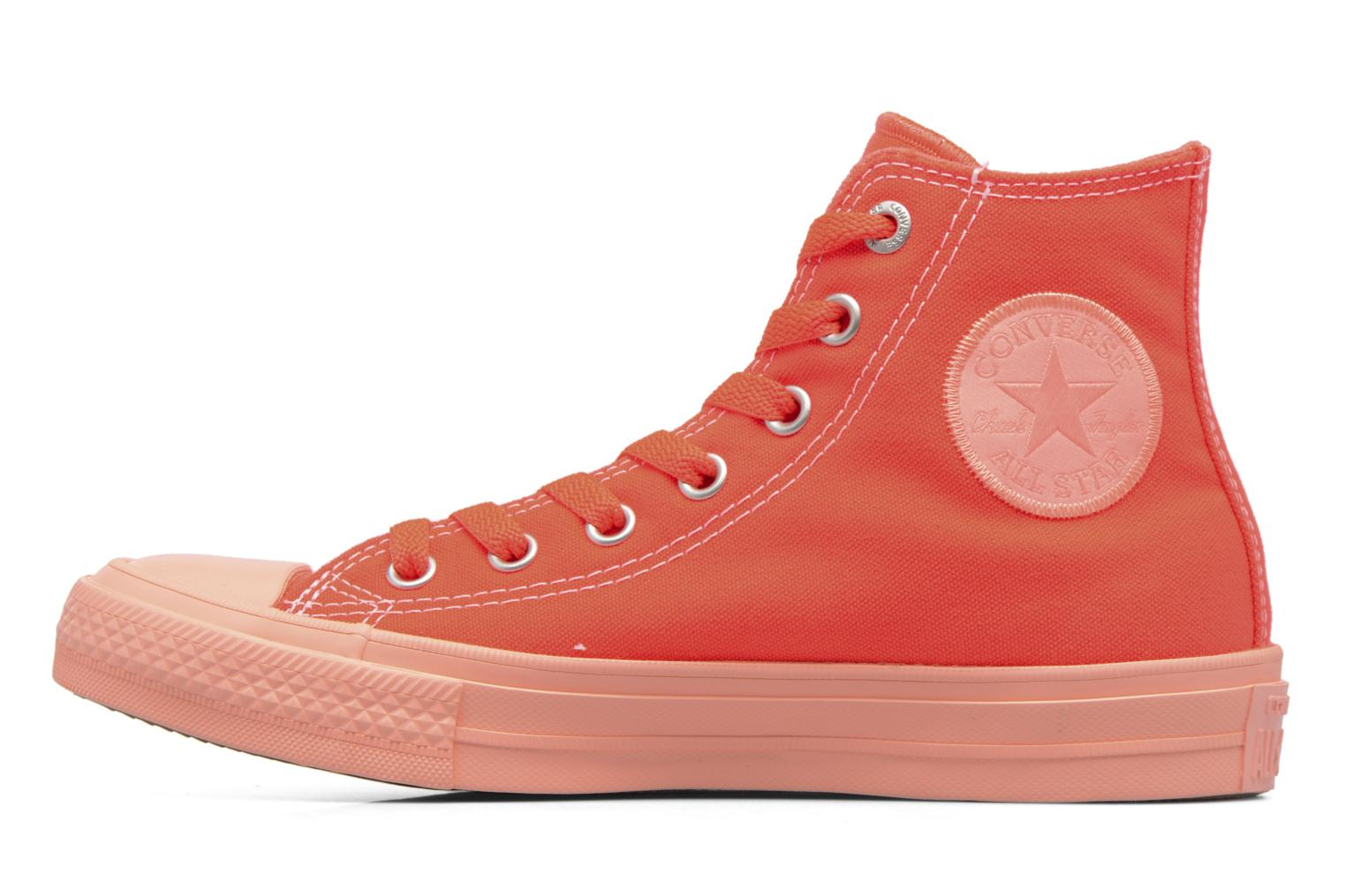 Baskets Converse Chuck Taylor All Star II Hi Pastel Midsoles W Orange vue face