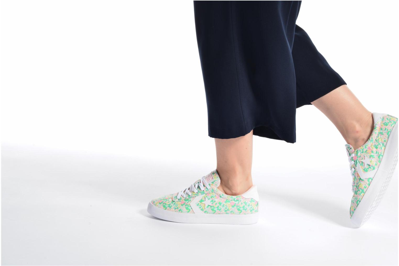 Baskets Converse Breakpoint Ox Floral Textile Multicolore vue bas / vue portée sac