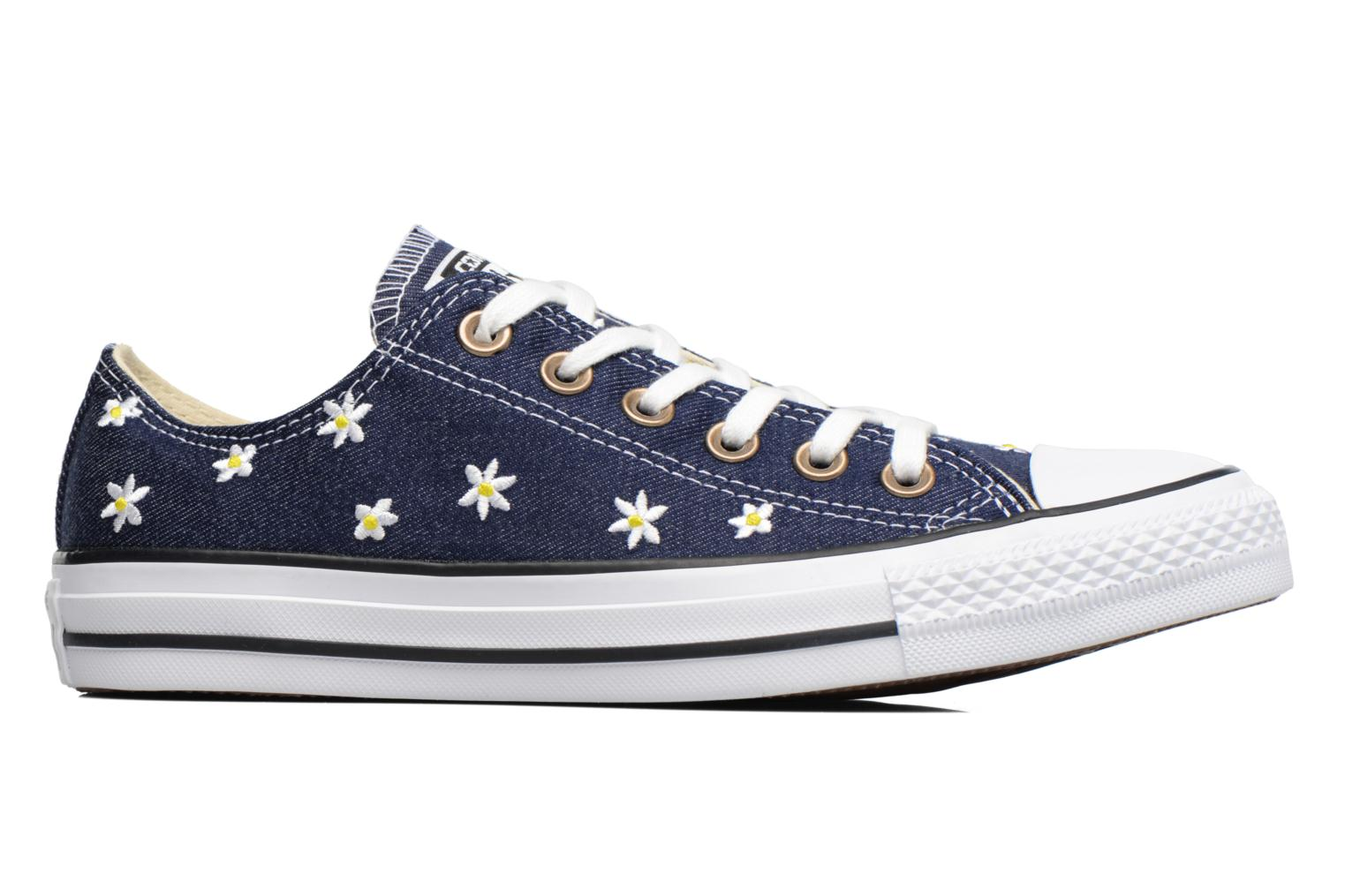 Chuck Taylor All Star Ox Denim Floral Navy/Fresh Yellow/White