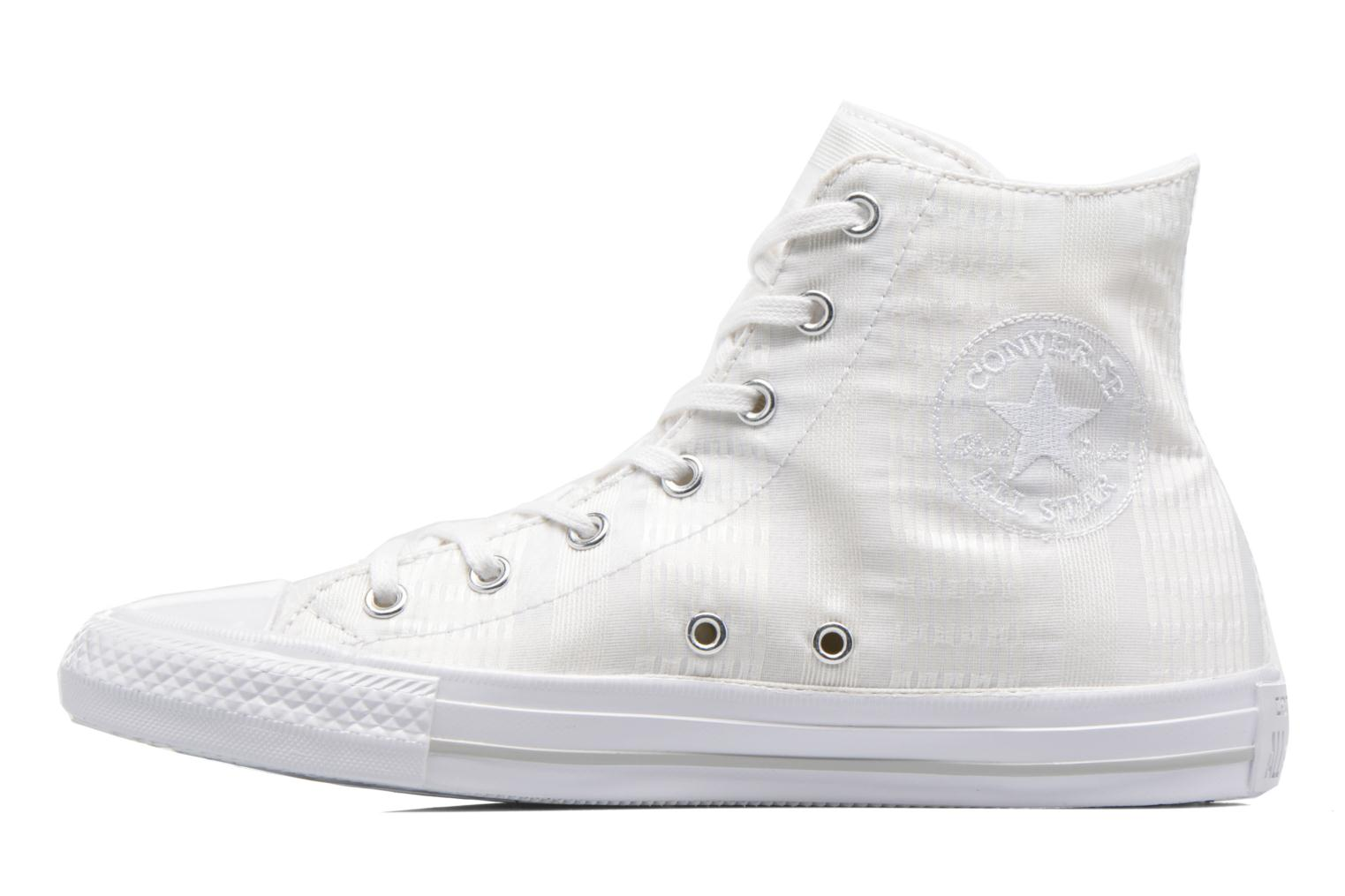 Baskets Converse Chuck Taylor All Star Gemma Hi Engineered Lace Blanc vue face