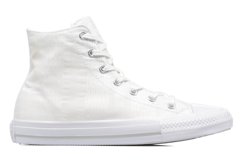 Deportivas Converse Chuck Taylor All Star Gemma Hi Engineered Lace Blanco vistra trasera