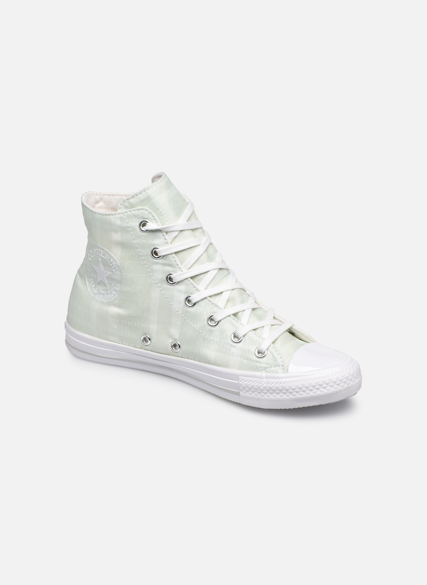 Chuck Taylor All Star Gemma Hi Engineered Lace Fiberglass/White/Mouse